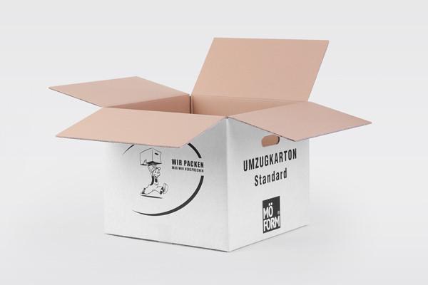 MÖFORM Standardkarton mit Handgriffen